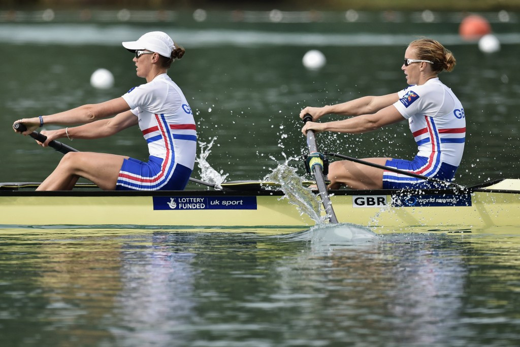 Olympic champions Glover and Stanning braced for first competitive outing at 2016 European Rowing Championships