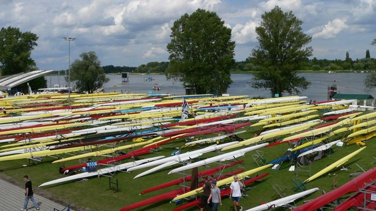 Lake Beetzsee in Brandenburg will play host to the three-day European Rowing Championships