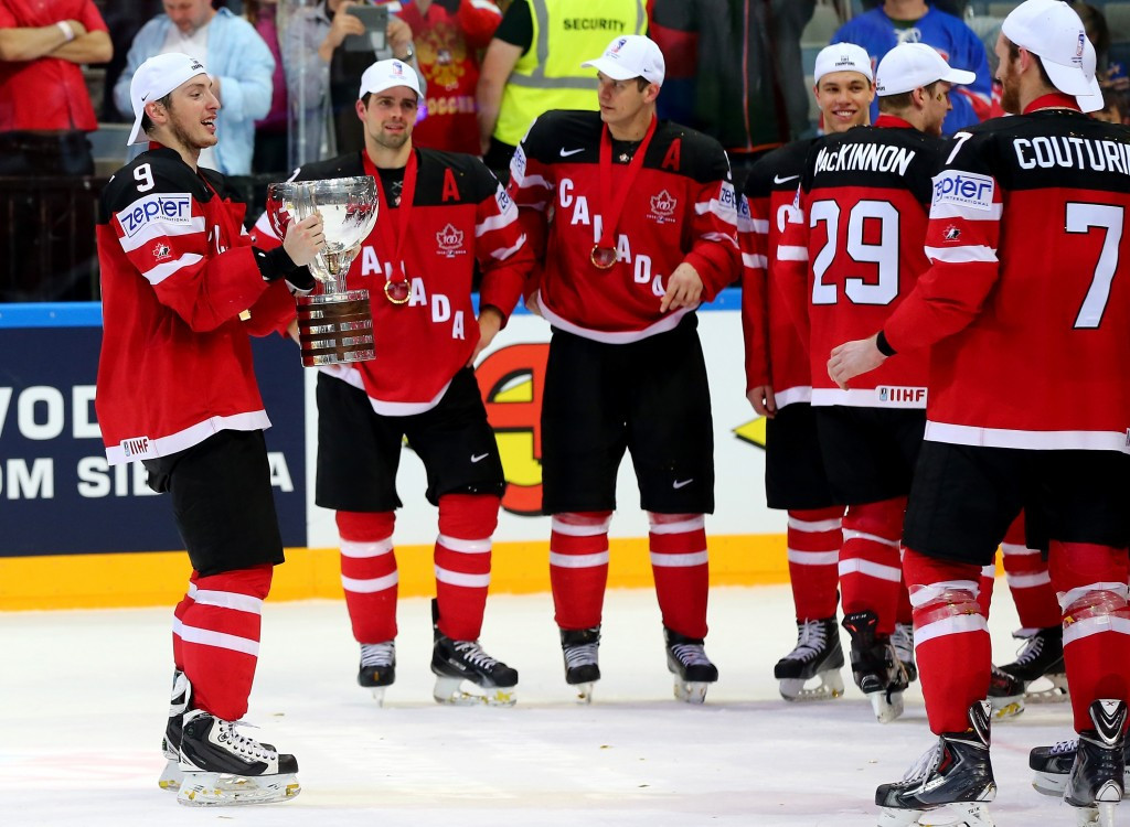 Canada confident of title defence at IIHF World Championship in Russia