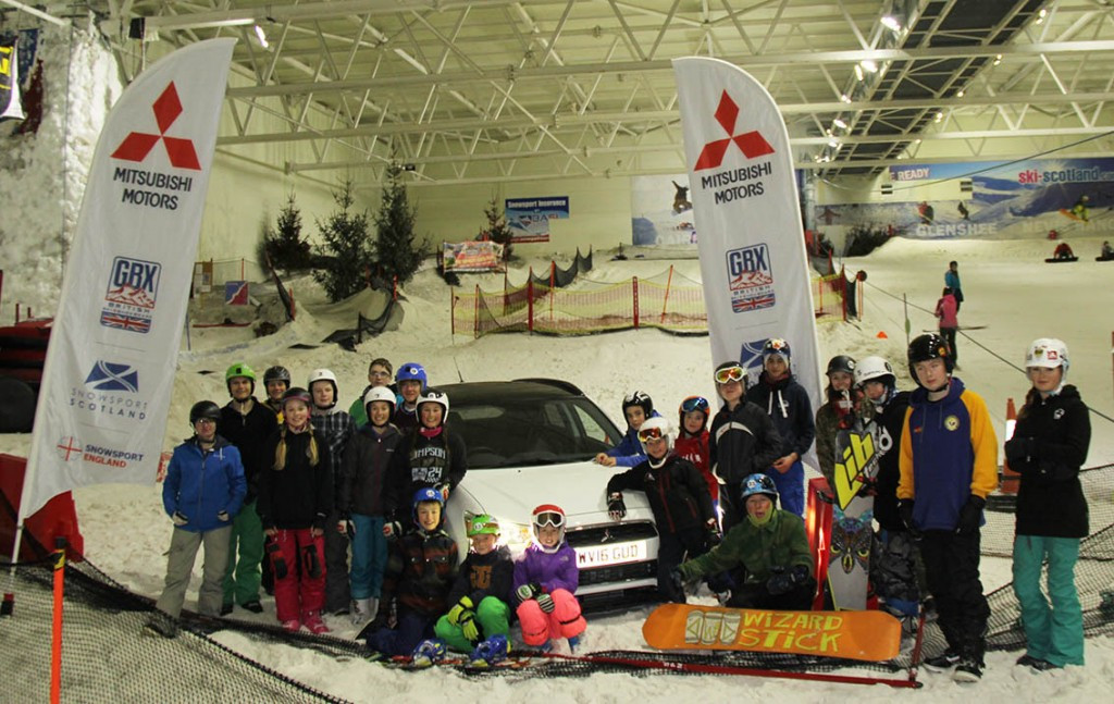 The first-ever UK-based Ski and Snowboard Cross National Trials have begun with an event in Braehead in Scotland ©BSS