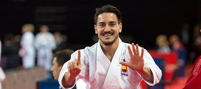 Kata king Quintero reaches sixth consecutive continental final on opening day of European Karate Championships