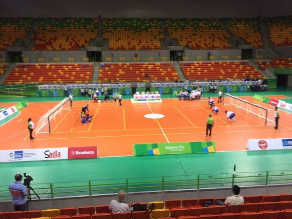 Brazil edge Finland at Rio 2016 goalball test event as Paralympic draw takes place