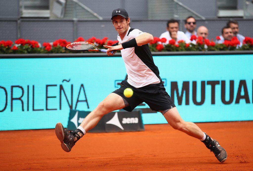 Defending champion Murray marches on at Madrid Open