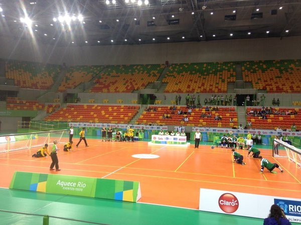 Brazil gain Rio 2016 Paralympic boost by winning men's goalball test event
