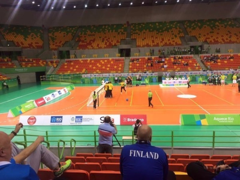 Brazil gained a significant boost ahead of Rio 2016 with victory in the goalball test event ©CPB