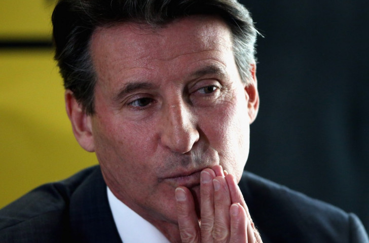Sebastian Coe has praised Asia's athletics potential during a campaign-trail visit to China ©Getty Images