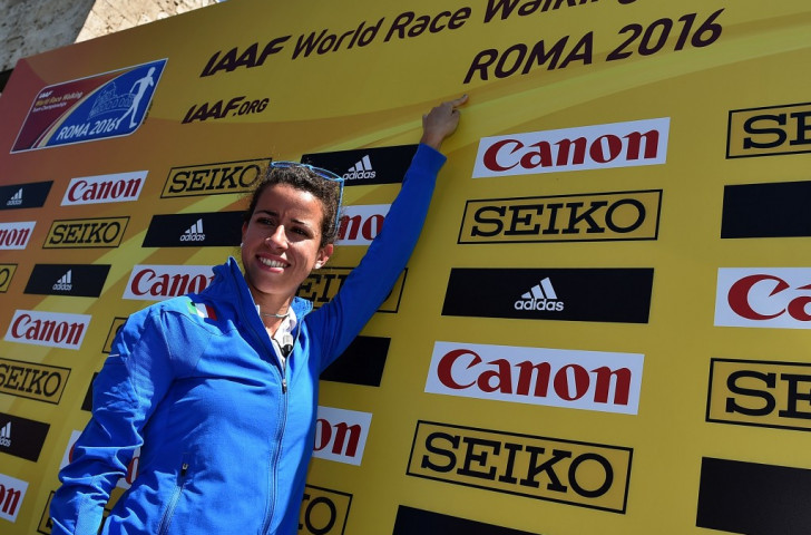 Italian supporters will be hoping home walker Eleonora Giorgi wins tomorrow's women's 20km race in Rome ©Getty Images