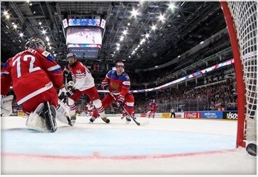 Hosts Russia suffer shock defeat to Czech Republic on opening day of IIHF World Championship