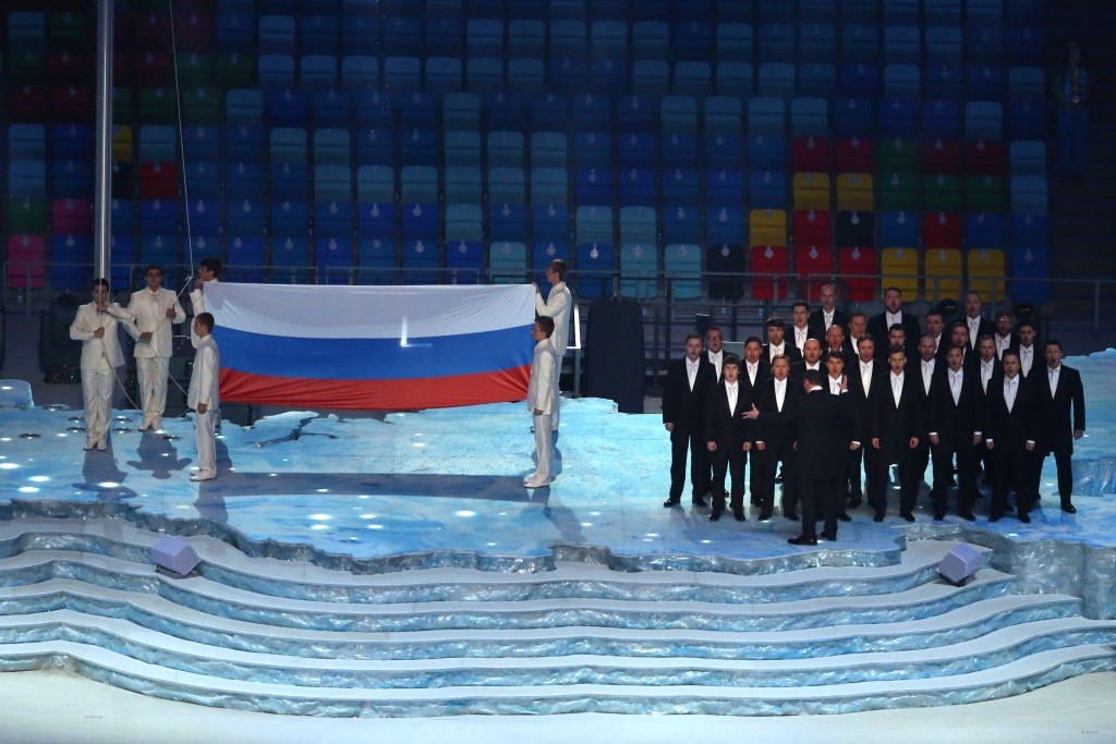 Russia topped the Sochi 2014 medals table