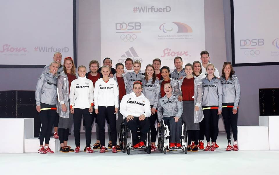 Müller among Paralympic stars to unveil Germany's Rio 2016 kit