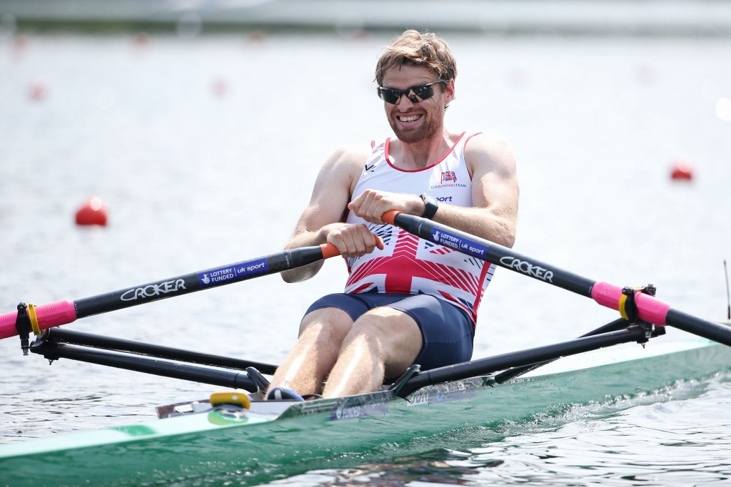 It was a difficult day for Olympic bronze medallist Alan Campbell ©Getty Images