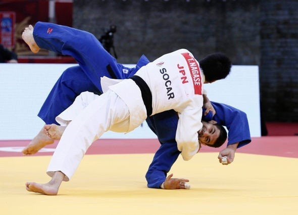 World champion Takanori Nagase stepped up his Rio 2016 preparations by earning men's under 81kg gold in Baku ©IJF