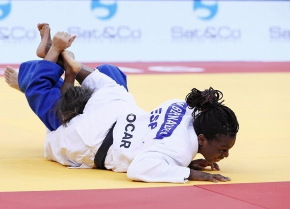 World Championship silver medallist Maria Bernabeu won the women's under 70kg gold