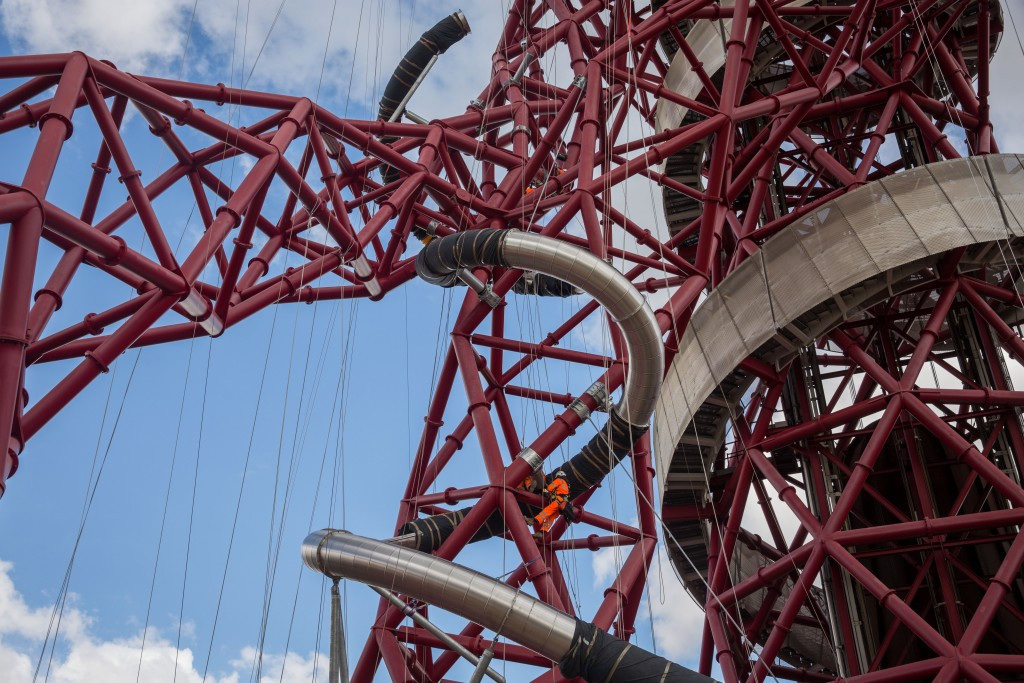 London 2012 tower on course to double visitor totals through world's longest slide
