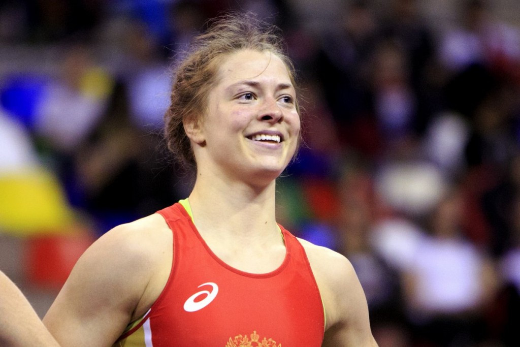 Valeria Koblova was one of two Russian wrestlers to secure berths at Rio 2016 ©UWW