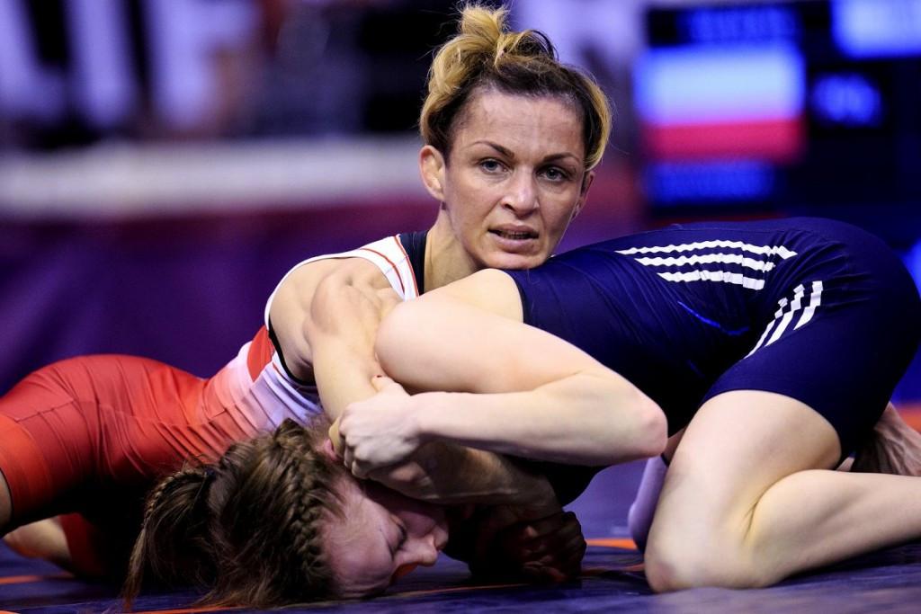 Poland's Iwona Matkowska earned a spot in the women's 48kg event