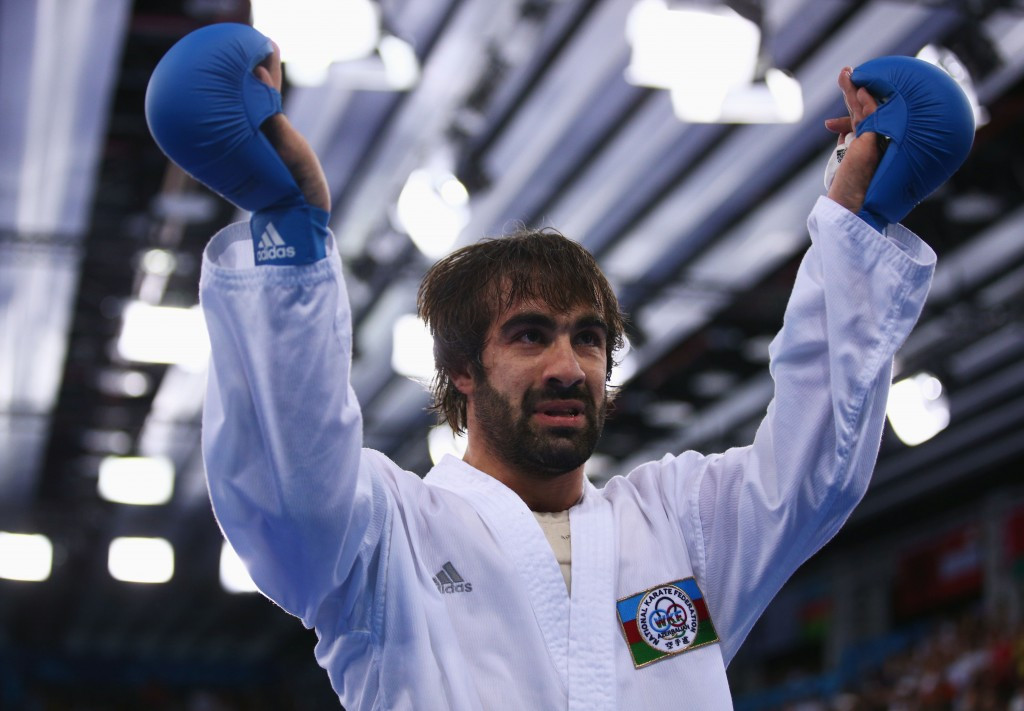 Aghayev wins ninth European Karate Championships title in Montpellier