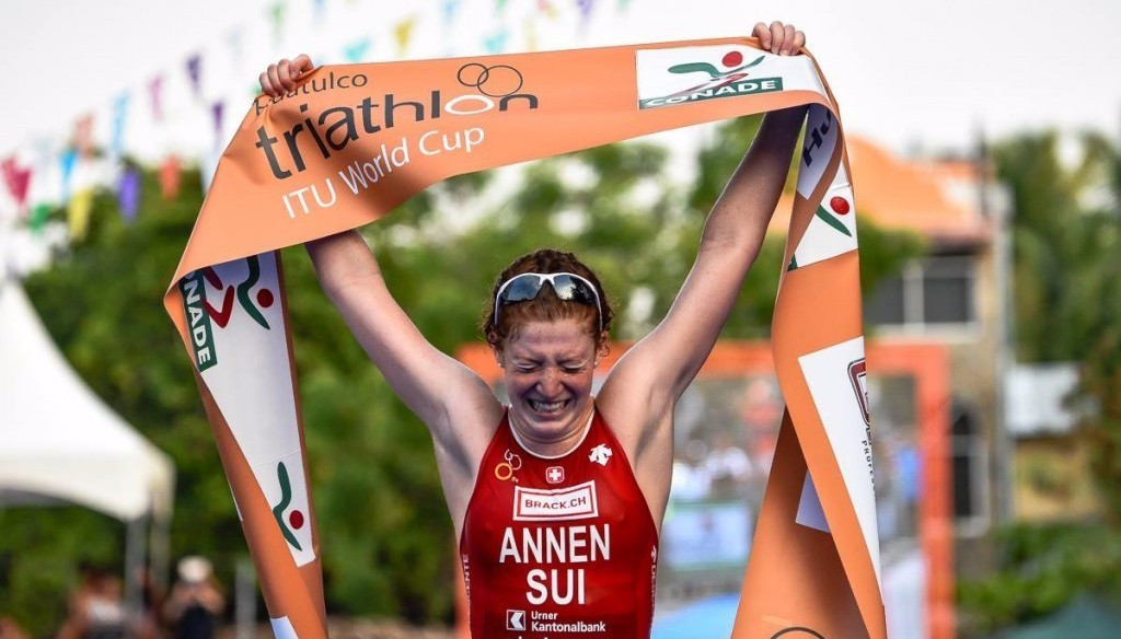 Annen powers to first ITU World Cup victory in Huatulco