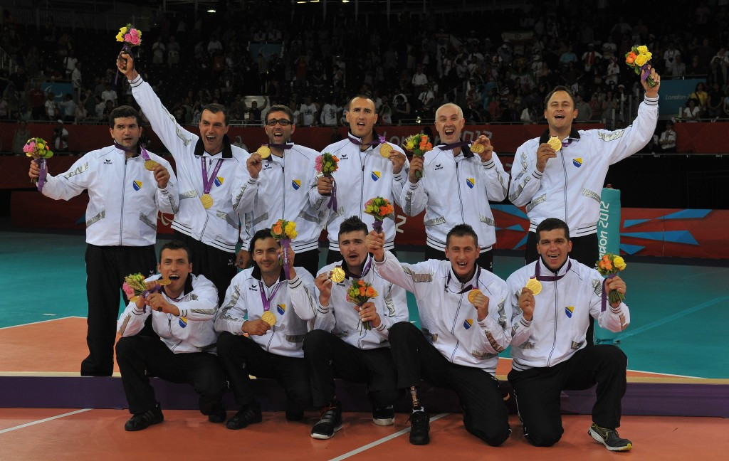 London 2012 champions Bosnia will face Iran in a repeat of the past four Paralympic finals ©Getty Images