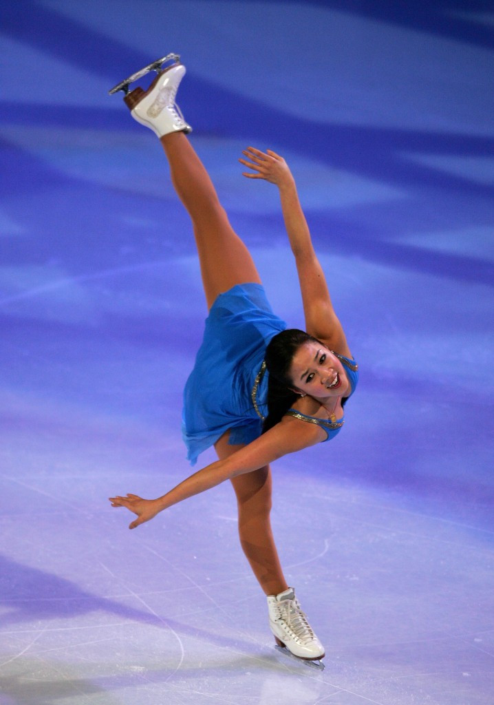 Michelle Kwan is a former Skate America champion