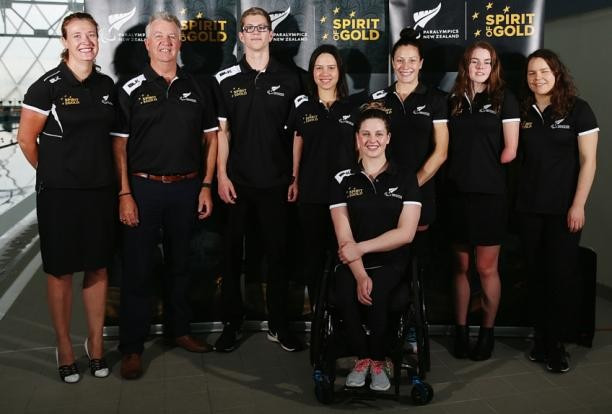 Trio of Paralympic champions named in New Zealand swimming squad for Rio 2016