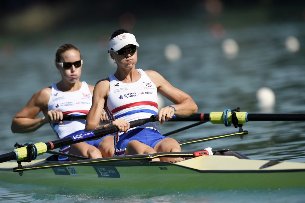 Heather Stanning and Helen Glover were among four British winners ©Getty Images