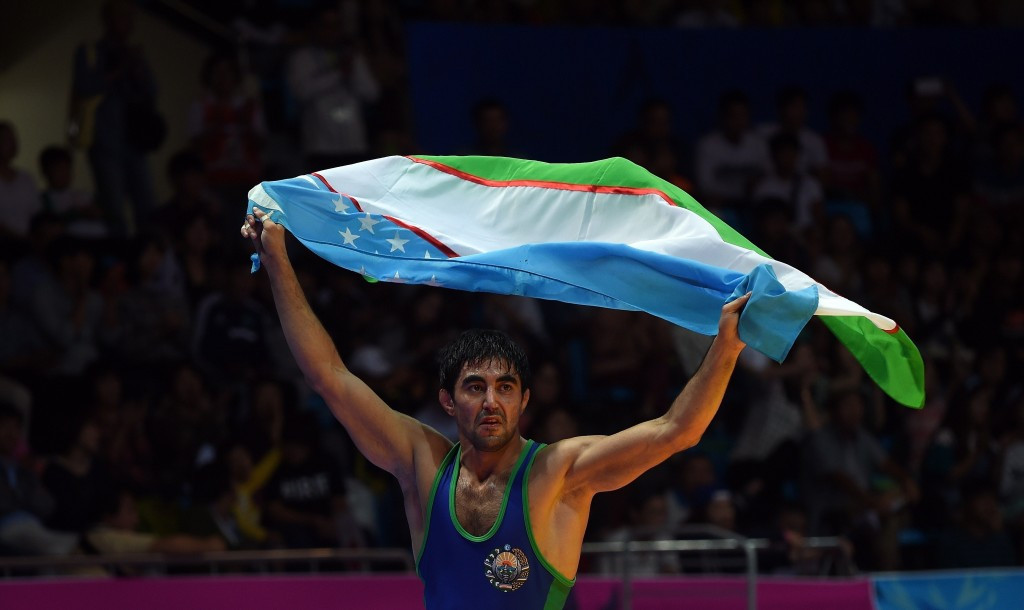 Bekzod Abdurakhmonov was among the gold medal winners ©Getty Images