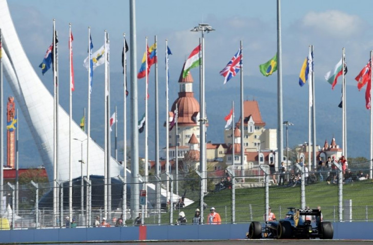 Russian GP organisers have dismissed claims the company behind the event have gone bankrupt ©Formula One