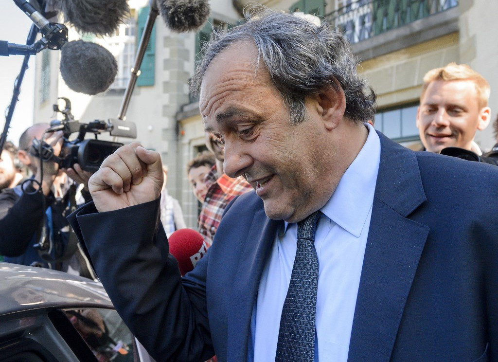 Former UEFA President Platini now formal suspect in Swiss case
