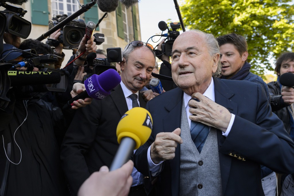 The sanction followed a payment by former FIFA President Sepp Blatter