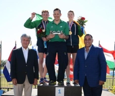 Ireland won mixed relay gold in Sarasota ©UIPM