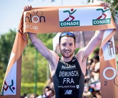 Diemunsch wins ITU World Cup gold in Mexico