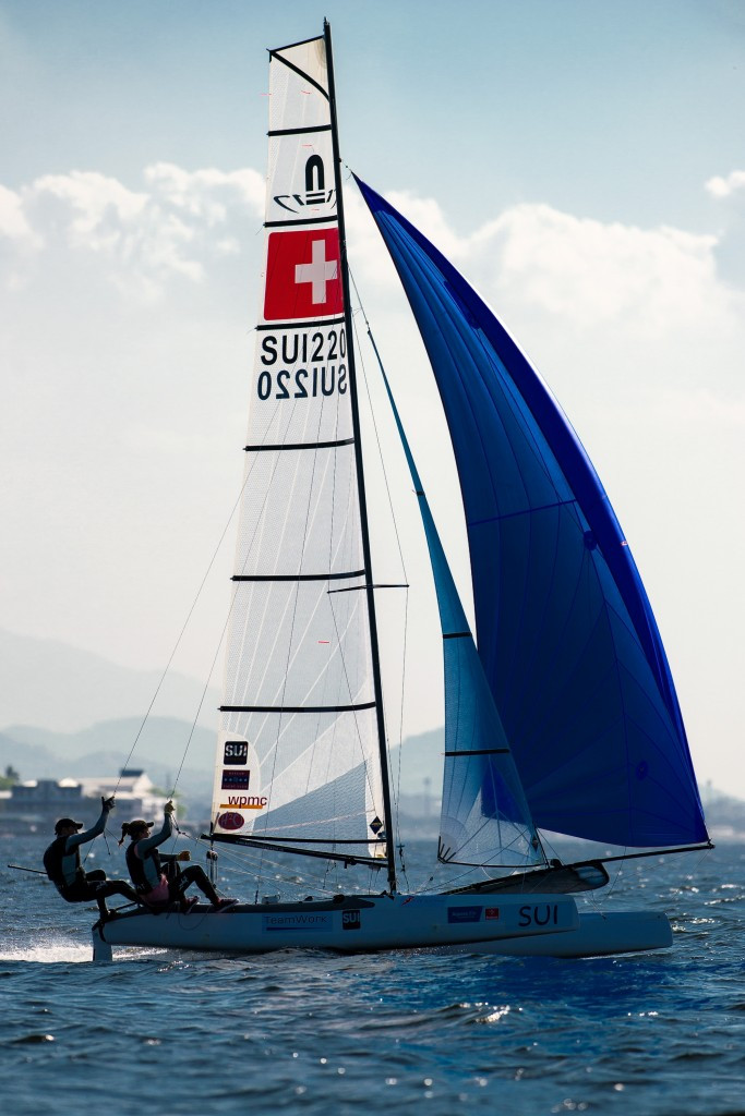Nathalie Brugger and Matias Bühler will compete in the Nacra 17 class ©Getty Images