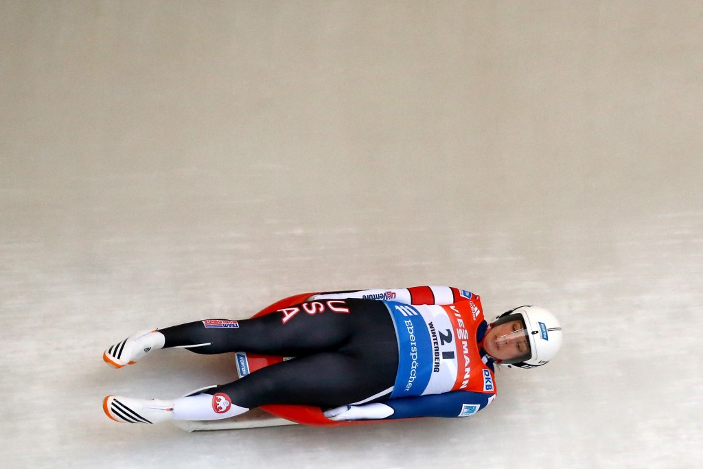 Olympic bronze medallist Erin Hamlin headlines a strong USA Luge team ©Getty Images