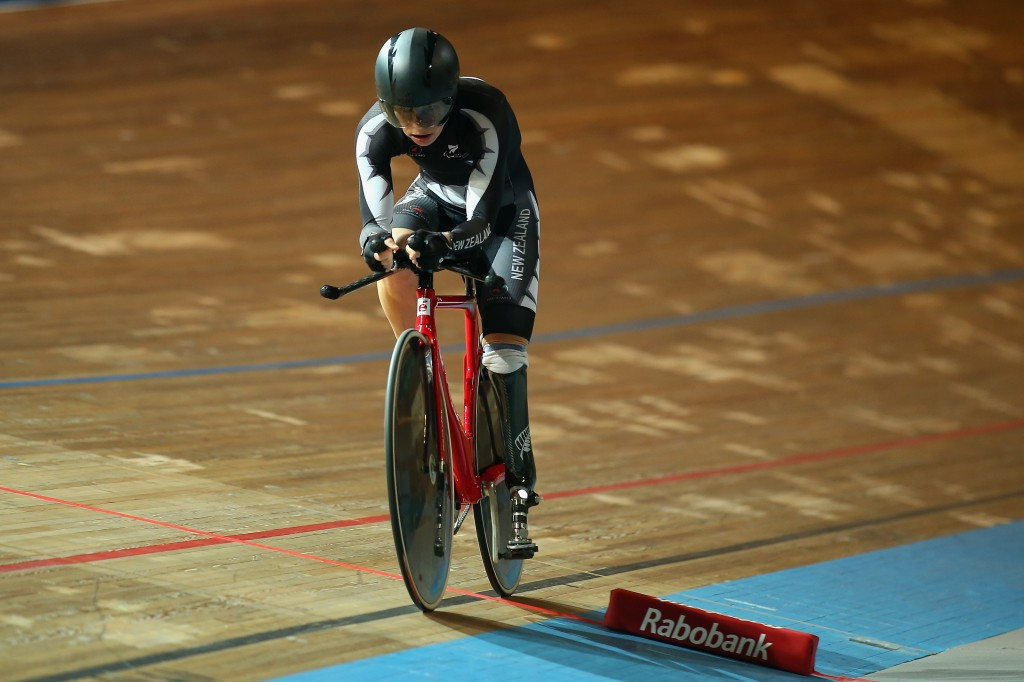 World record holder Horan named in seven-strong New Zealand Para-cycling squad for Rio 2016