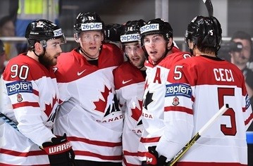 Canada and Finland maintain 100 per cent records at IIHF World Championship