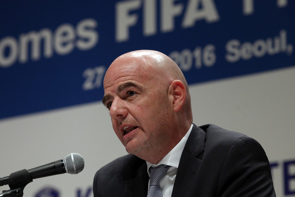 "FIFA President Gianni Infantino said he was ""very sad"" after Michel Platini failed in his bid to have his ban quashed ©Getty Images"