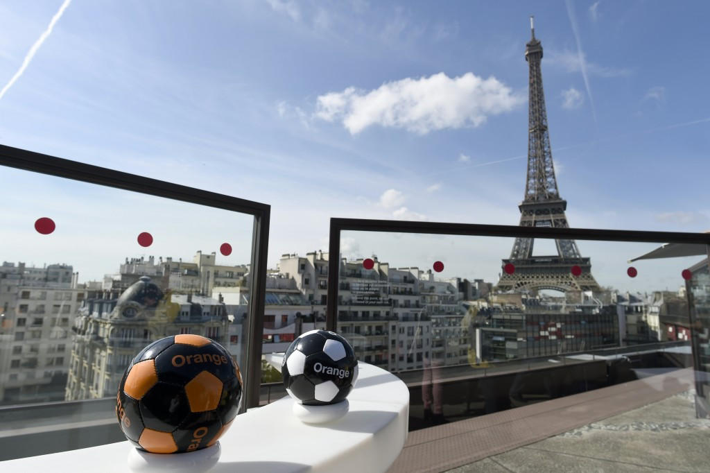 Orange are also acting as a sponsor for this year's Euro 2016 football tournament in France