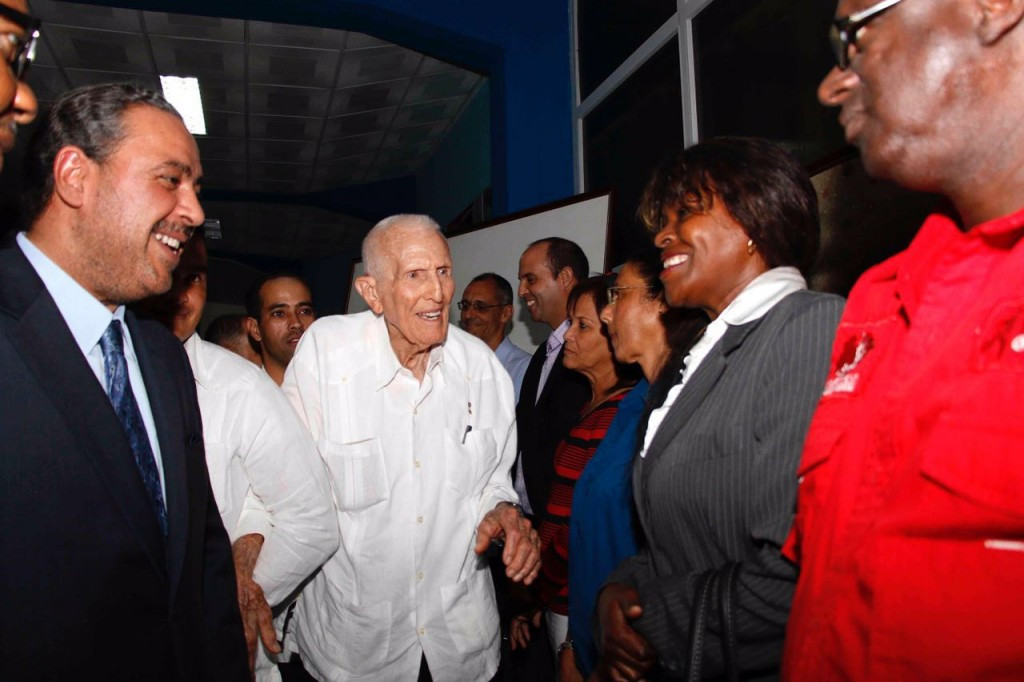 The visit came during a time of political change in Cuba