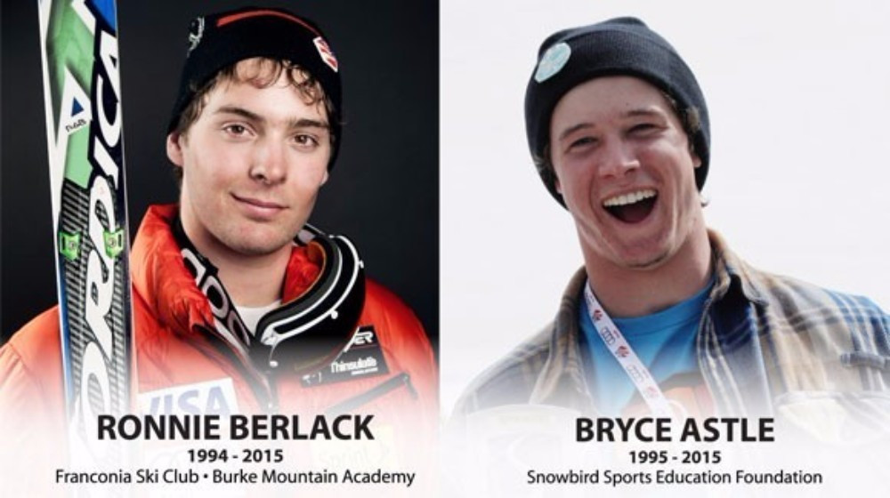 The Foundation has been established in memory of skiers Bryce Astle and Ronnie Berlack ©USSA