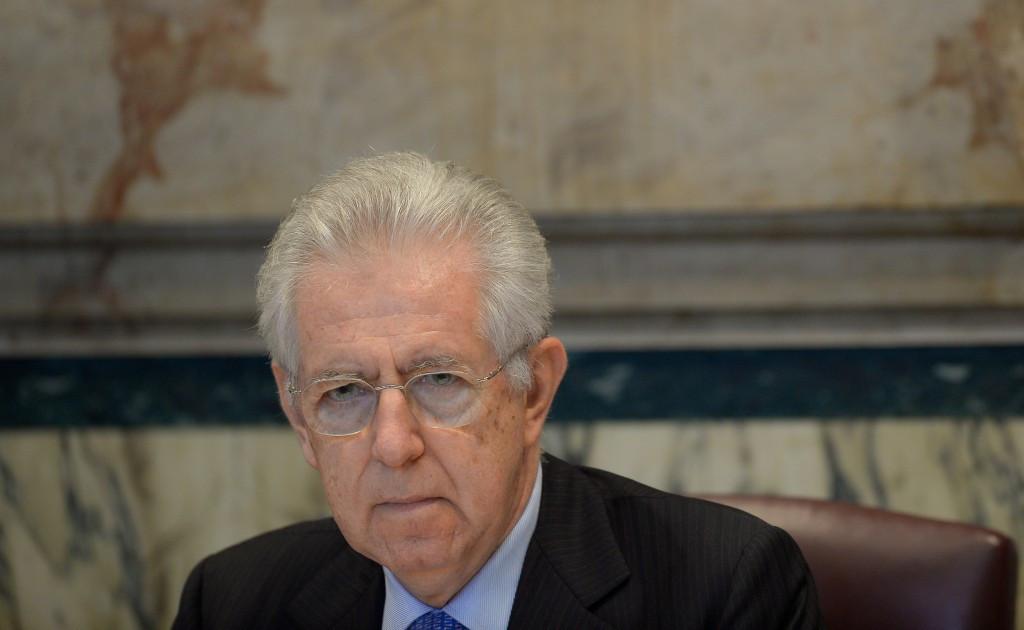 Mario Monti abandoned Rome's 2020 bid