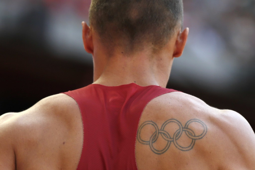 The IOC have backed Olympic Rings tattoos ©Getty Images