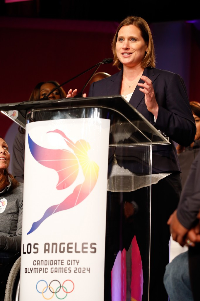 Angela Ruggiero has been appointed as chief strategy officer by Los Angeles 2024 ©Getty Images