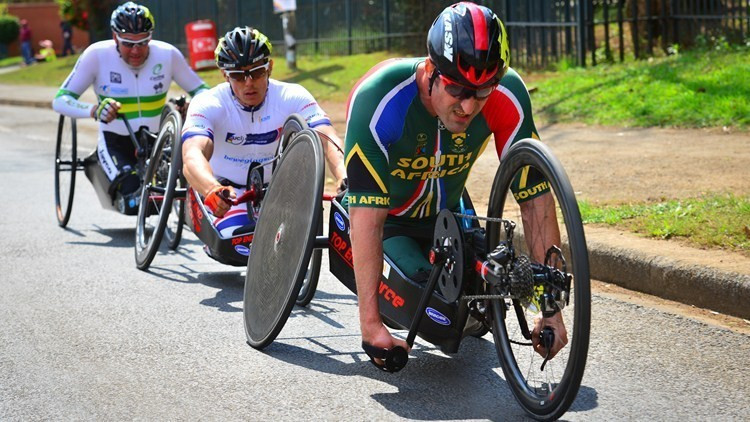Van Dyk leads home success at UCI Para-cycling Road World Cup in Pietermaritzburg