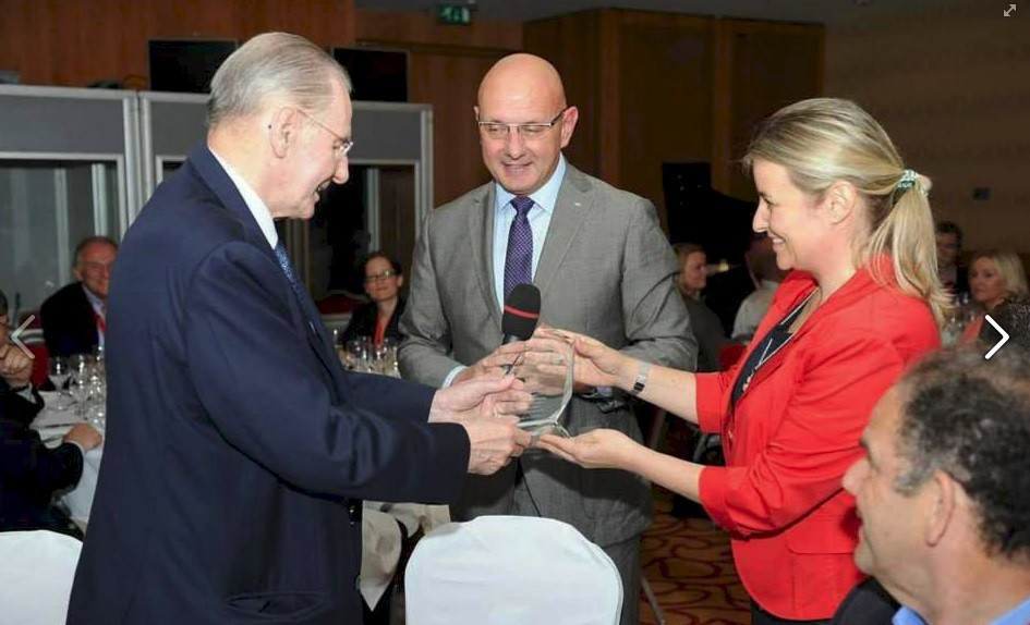 Honourary IOC President Jacques Rogge was the guest of honour at the official dinner at the Congress in his hometown of Ghent