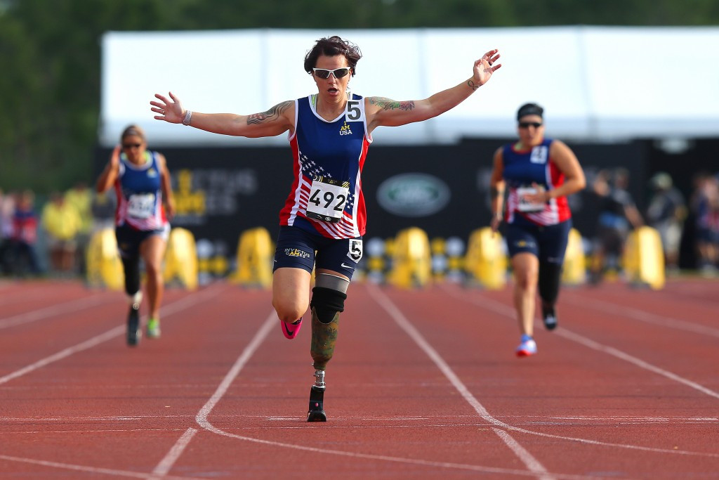 Home favourite Rudder increases medal tally at 2016 Invictus Games in Orlando