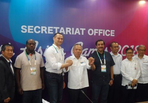 Indonesian Minister reassures OCA construction for 2018 Asian Games will be completed on time