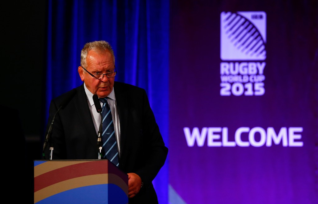 The duo will serve alongside new World Rugby chair Bill Beaumont ©Getty Images