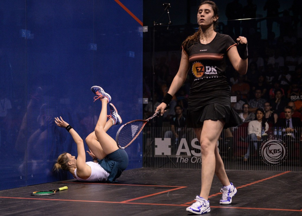 World number one Nour El Sherbini will be expected to be a key player in the Egyptian team