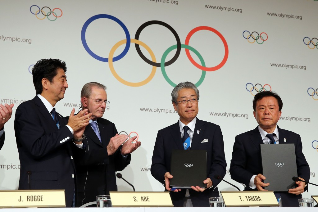 Tokyo beat Istanbul and Madrid to secure the right to host the Games